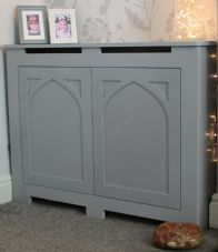 Painted Wooden Cupboard Storage, Different Sizes White/Grey/Unpainted TV Cabinet